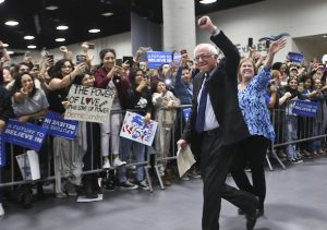 Bernie Sanders Visits San Jose