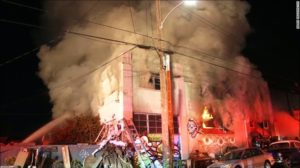 Deadly Blaze At A Warehouse in Oakland Leaves 36 Dead… Search For More Bodies Stopped